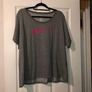 Nike swoosh tee